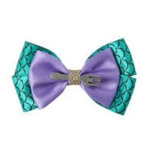 Little Mermaid Disney Hot Topic Hair Bow